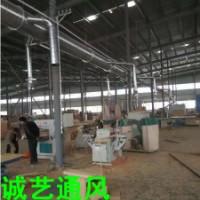 郑州新乡厂房通风排烟工程施工
