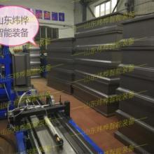 出口型铁棺材板自动折弯生产设备,铁皮棺材板自动生产线
