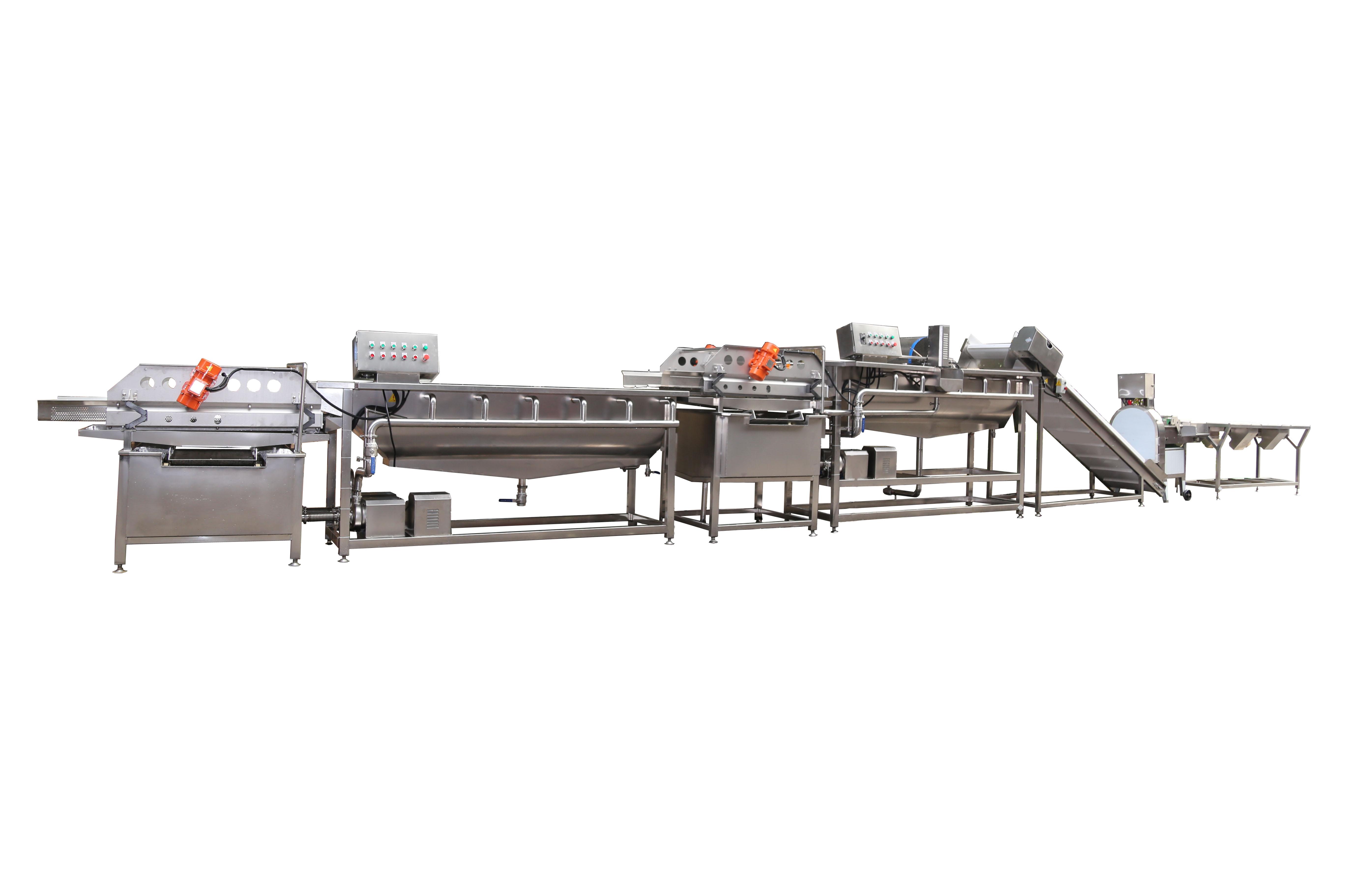 LC-01 净菜加工生产线