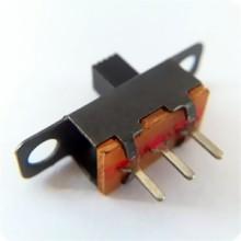 厂家直销只要4分拨动开关SS-12F17直立插件式拨动开关1P2T两档拨动开关图片