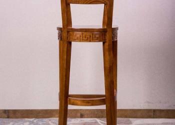 吧台椅吧椅实木家具高脚凳家具定制图片