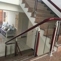 供应商用于玻璃楼梯设计销售价格驻马店钢化玻璃扶手