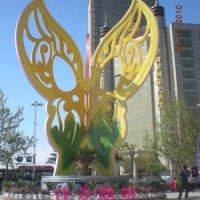 不锈钢蝴蝶雕塑