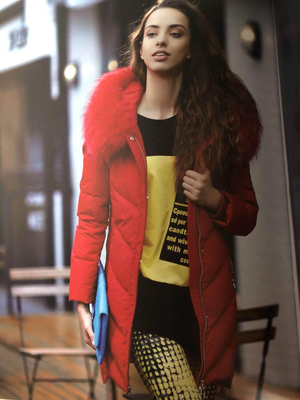 杭州品牌爱美斯羽绒服品牌女装折扣走份批发三荟品牌女装