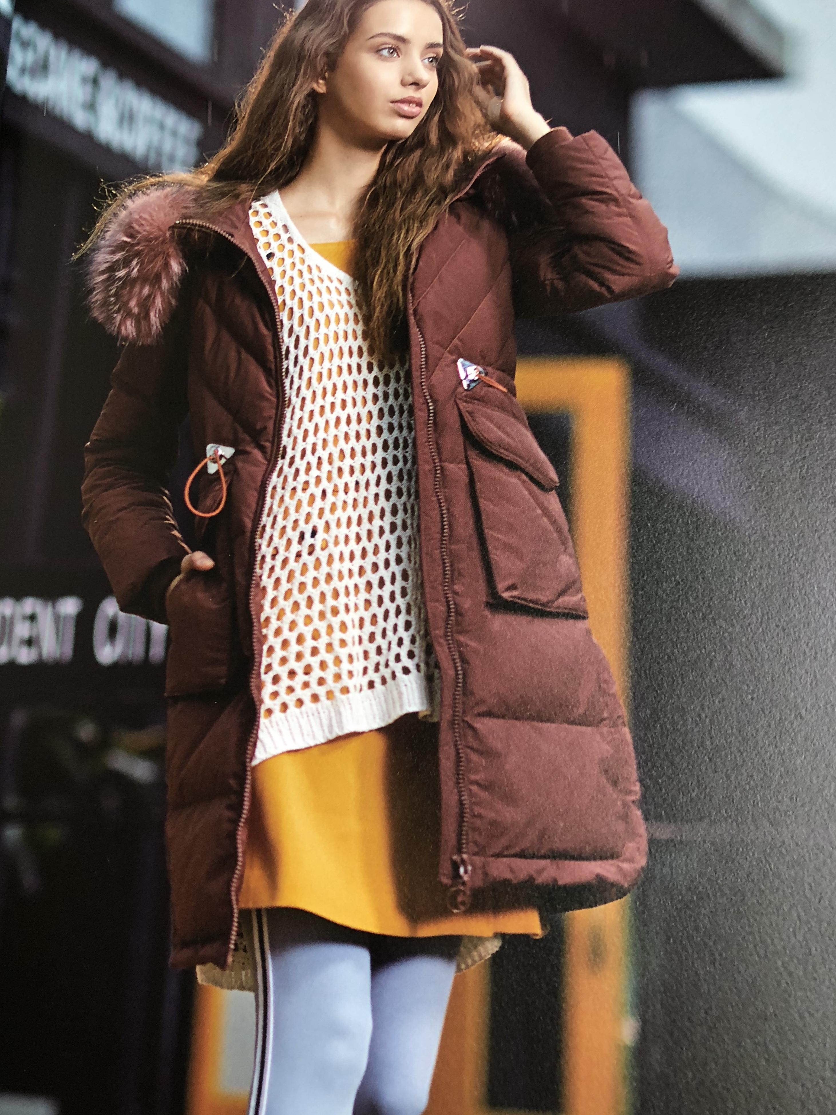 上海一线品牌柏特瑞羽绒服品牌女装折扣走份批发 新款羽绒服