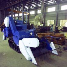 小型水稻收割机,水田好能手 专业生产小麦收割机图片
