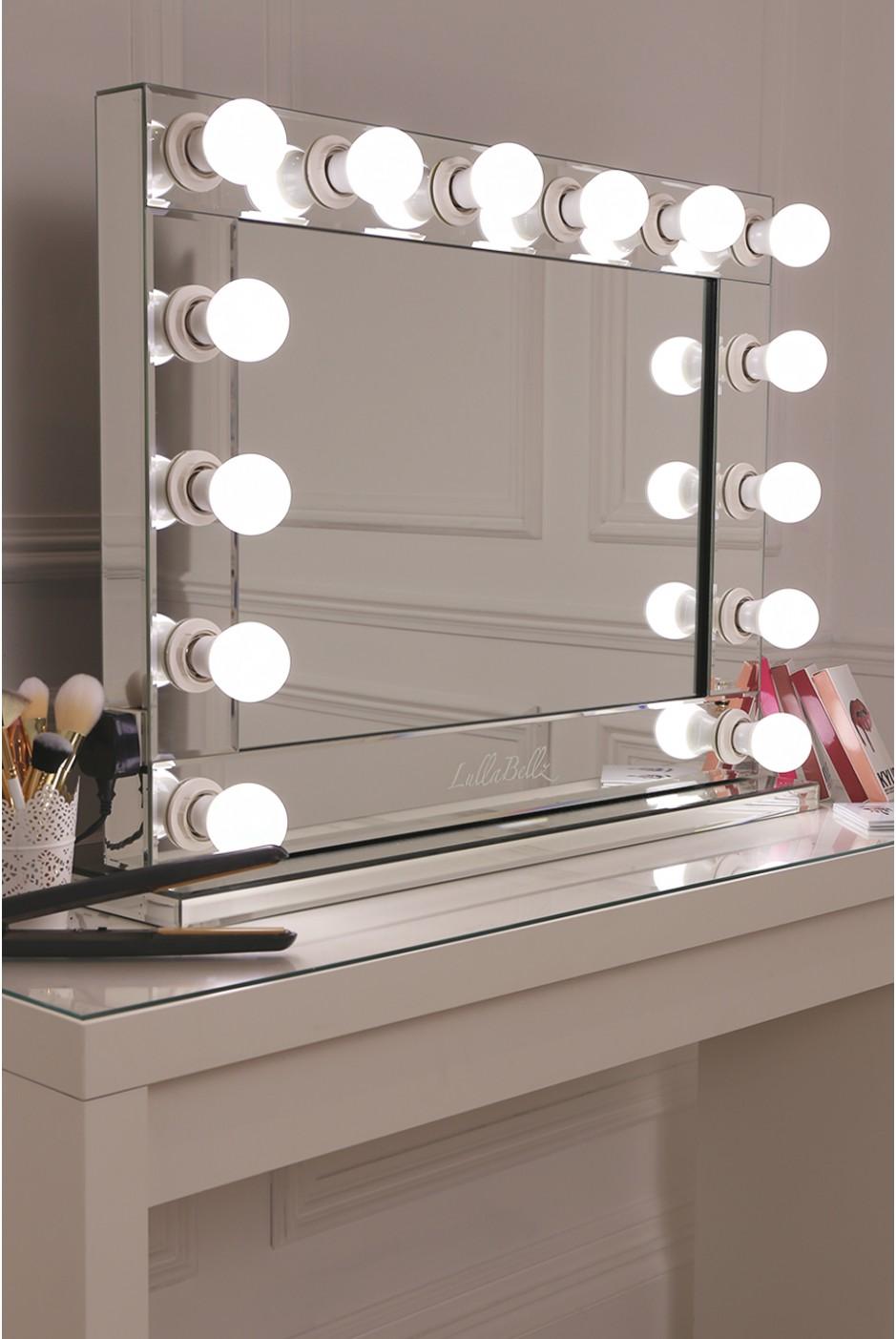 灯泡镜 好莱坞鏡 台式镜