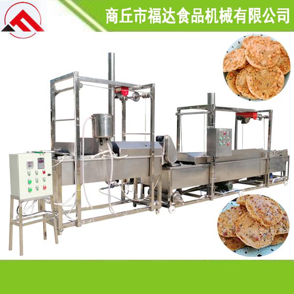 翁源县全自动油炸花生饼机器设备