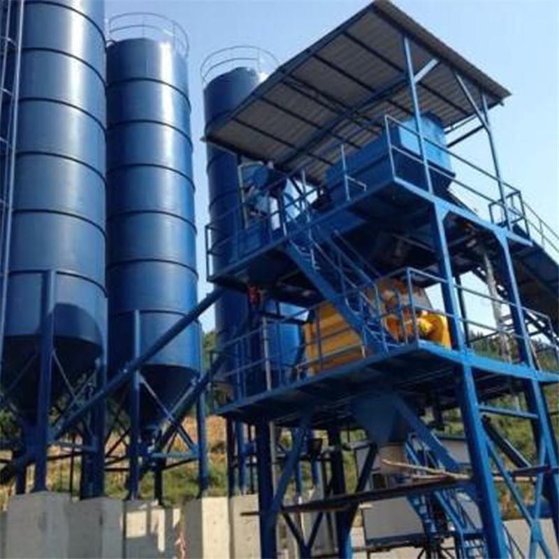 海富机电长期供应HZS90中型搅拌站