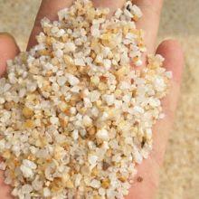 石英砂滤料 水处理黄色石英砂  混泥土石英砂批发