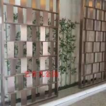泉州厂家订做价格 酒店别墅精美屏风 餐厅酒店挂屏 时尚铜雕花屏风