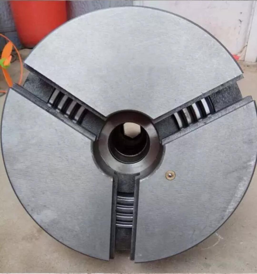 厂家直销上门改装车床自动卡盘电动卡盘优质钢体卡盘  200中空电动卡盘
