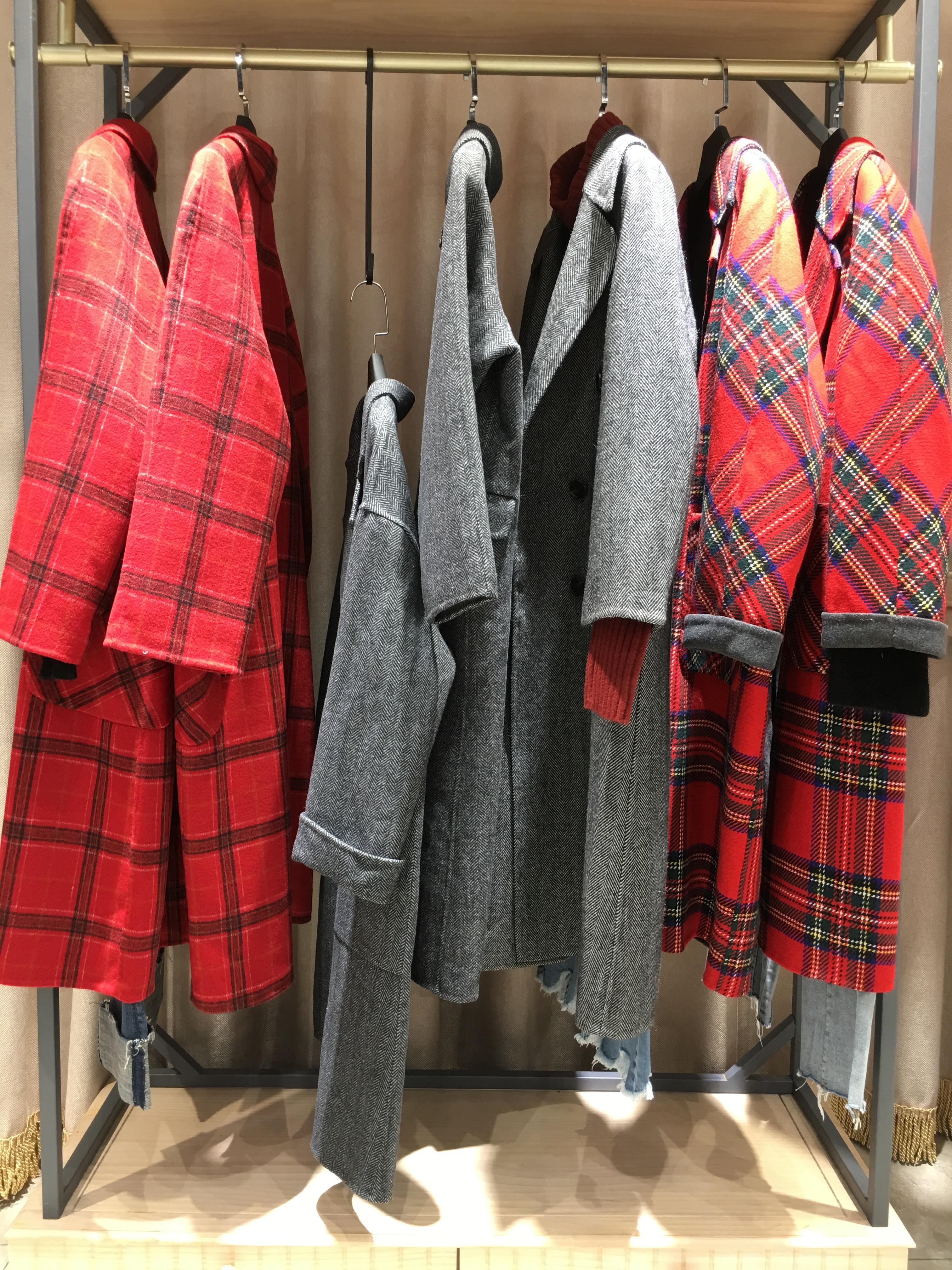 供应KEMANKEMA修身呢大衣品牌折扣女装折扣批发