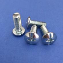 十一字槽特大扁头机螺钉 复合槽螺丝 电器螺钉蓝白