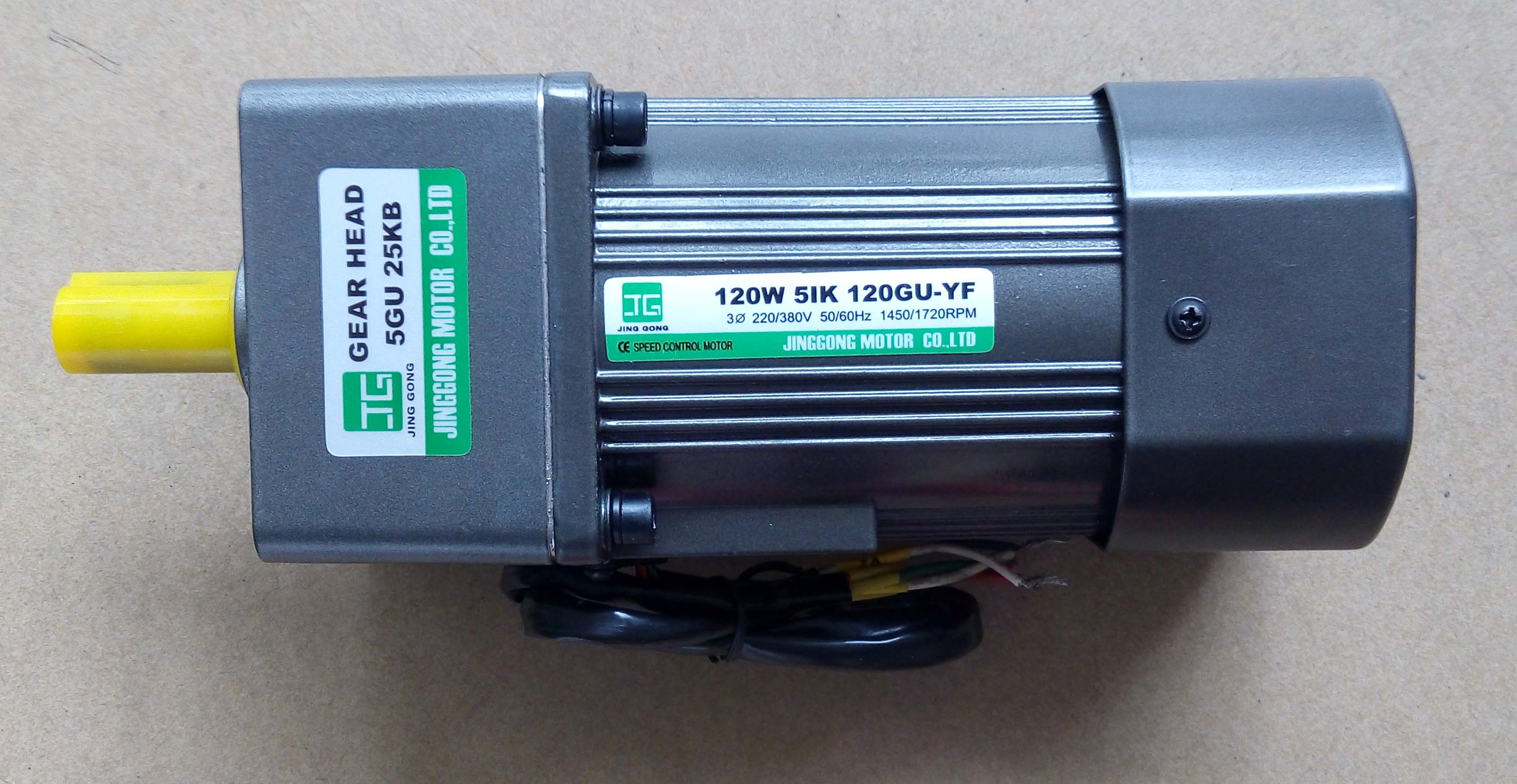 供应精工120W三相减速电机5IK120GU-YF/5GU50K