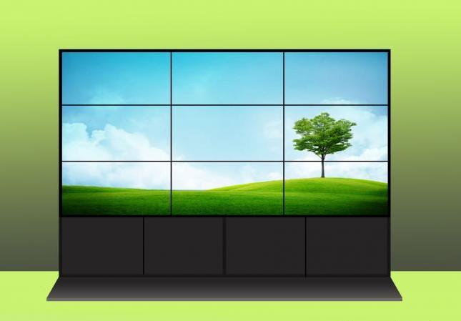 65寸液晶拼接屏 工业显示器