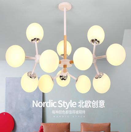 厂家LED现代灯后现代新款时尚简约大方美式北欧款 美式北欧风格 LED美式风格