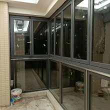 佛山飞凡优品门窗厂铝合金全开窗折叠窗 铝合金全开窗折叠窗封阳台