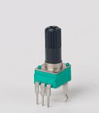 厂家生产096塑胶柄韩版功放电位器 LED灯电位器 控制板电位器