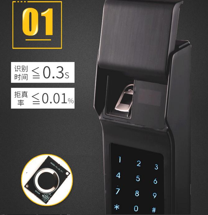 遥控密码门锁 家用密码锁 密码锁感应锁