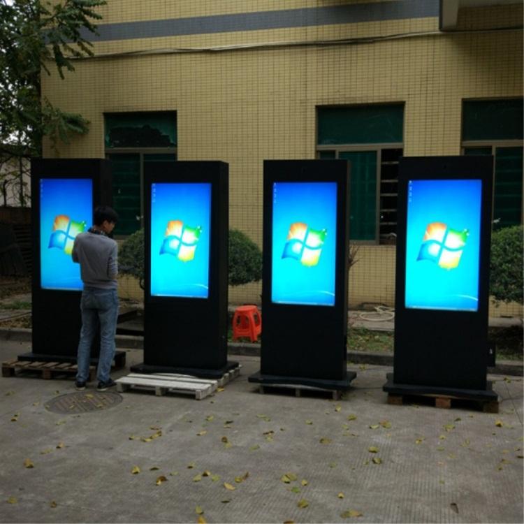 欣创鑫电子43寸户外广告机LED广告机单机版落地广告机防水广告机43寸户外广告机