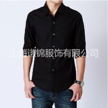正装修身时尚纯色衬衫男 上海衬衫生产厂家 大量现货衬衣供应图片