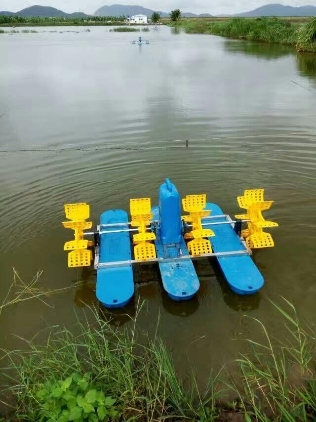 水产渔业机械YC-1.5KW三相380V水车式增氧机水车增氧机-07