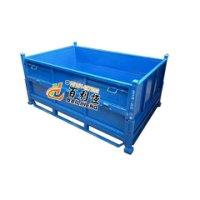金属周转箱 堆垛箱 可折叠周转箱 钢料箱