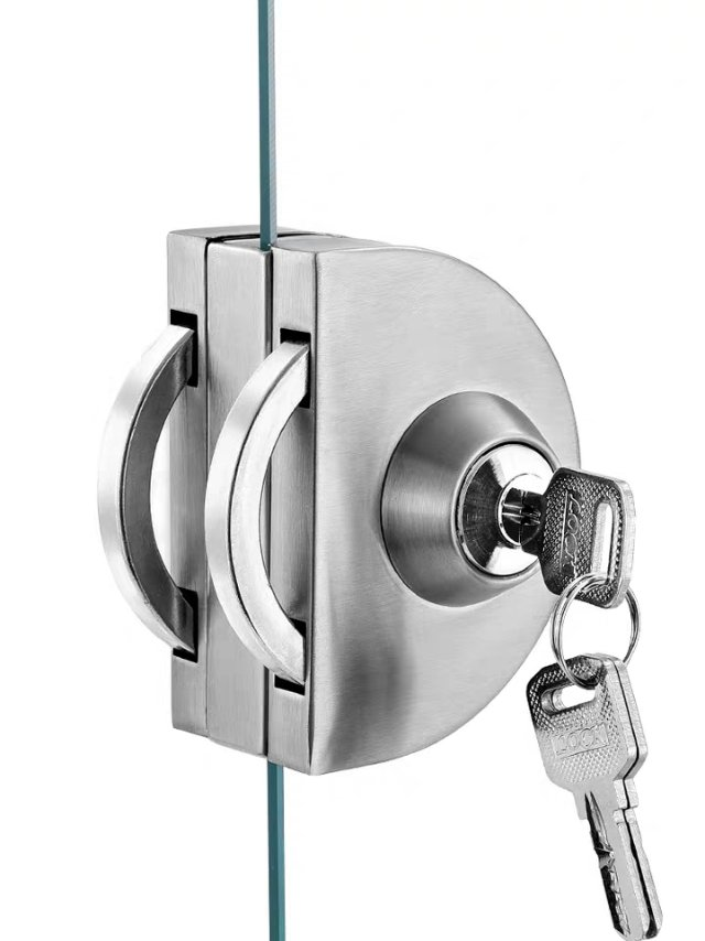 武汉上门更换玻璃门锁 门锁安装