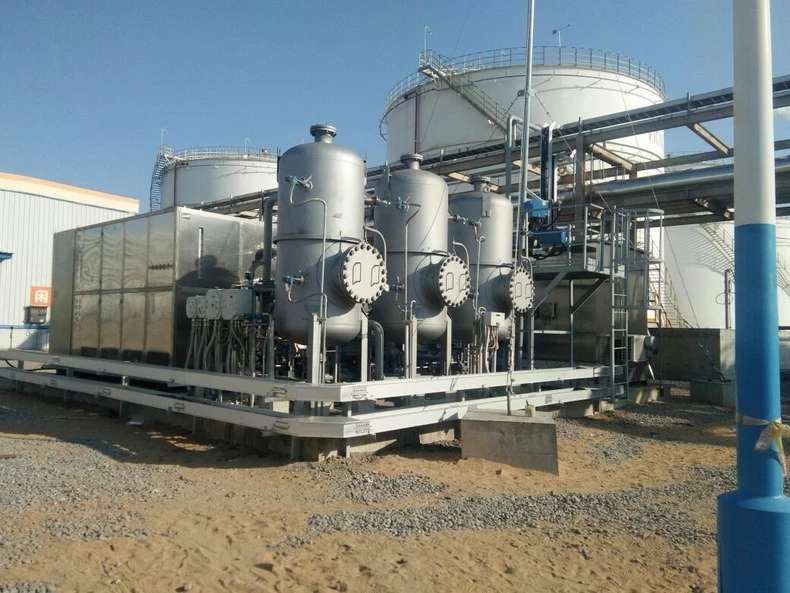 气体冷凝回收 油库/化工用回收系统