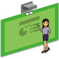 天创华视高清慕课系统,专业电子交互式绿板