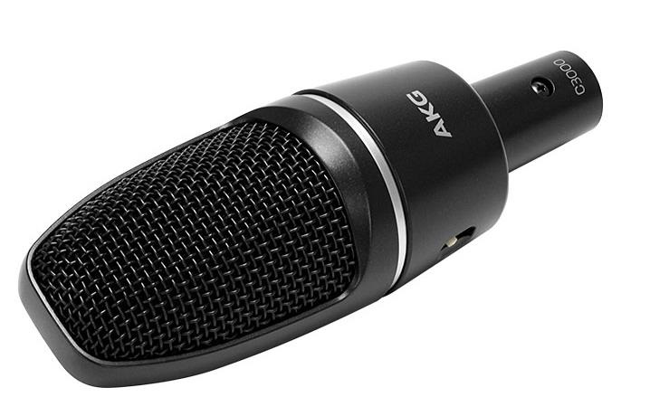 爱科技 c3000 专业电容麦克风电脑k歌录音声卡话筒yy主播套装
