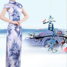郑州青花瓷主题模特秀演出图片