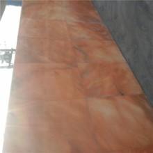 长期批发晚霞红 芙蓉红 天然大理石地砖 石板材