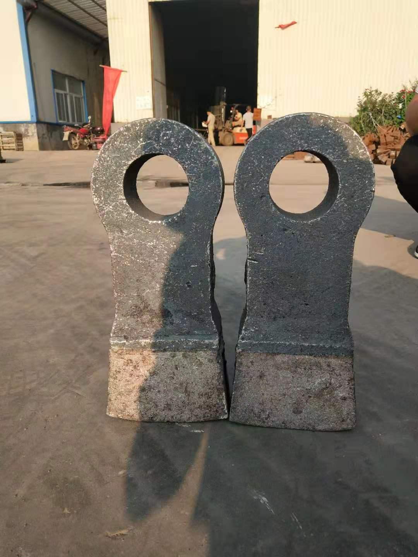 高铬合金材质 双金属复合合金锤头-云盛耐磨 双液热复合锤价格 破碎机配件 制砂机锤头