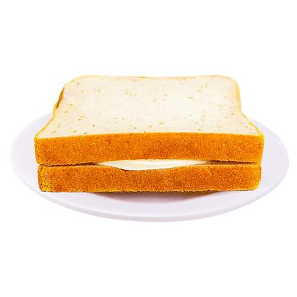 福建厂家直销批发礼盒包装方便携带 炭烧吐司面包奶酪夹心/价格好
