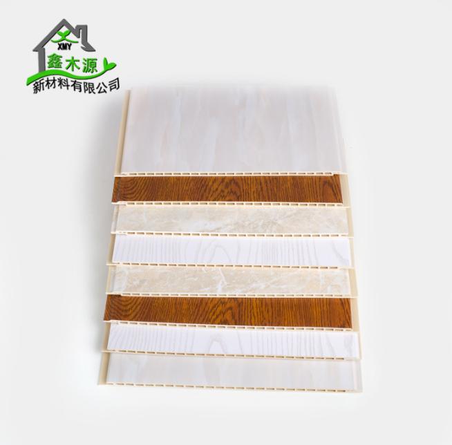 新型竹木纤维集成墙板 全屋整装定制快装墙板木塑板材300护墙板