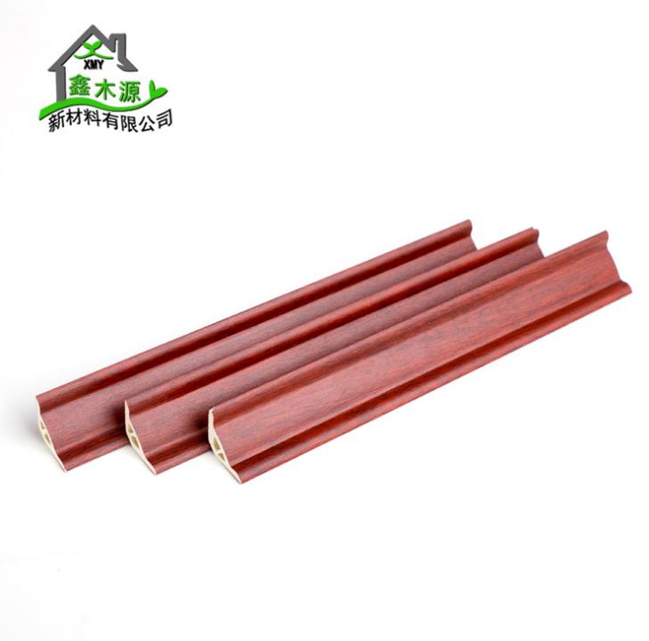 厂家直销生态木PVC阴角线 新型装饰材料室内装饰线条32阴角线