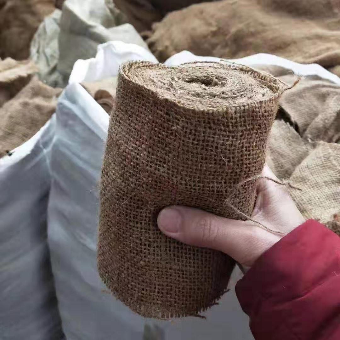 麻布卷 麻袋布 麻布袋 用于钢带及五金包装