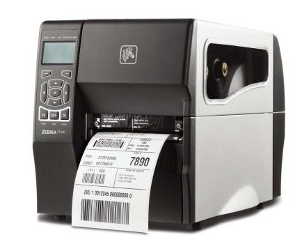 zebra斑马ZT230 商业条码标签打印机低价促销