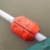直销PE海上管道浮筒塑料警示浮标海上浮体