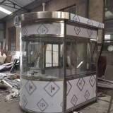 深圳不锈钢小区收费亭厂家电话-供应商-承接施工