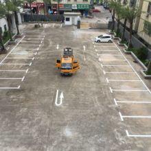 深圳停车位划线施工标准,深圳路边车位划线标准尺寸,深圳热熔道路标线价格图片