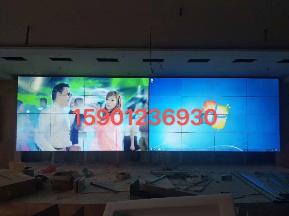 ,前台公司历程展示拼接屏。 会议室远程会议液晶拼接屏供应商