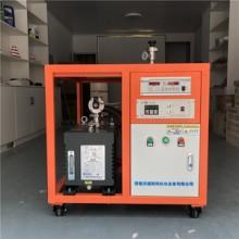 济南LNG 济南LNG杜瓦瓶抽真空 分子泵机组实验室高真空设备 lng气瓶抽真空设备 真空抽气罐图片