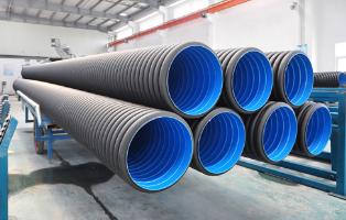 HDPE双壁波纹厂家供应 HDPE双壁波纹管厂家   河北HDPE双壁波纹管供应商