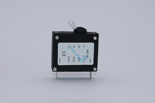 小型HD-30 1P白帽电磁断路器厂家直销 优质白帽电磁断路器供应商