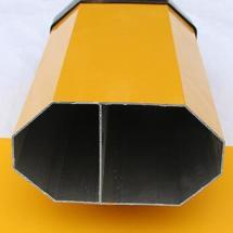 供应铝合金升降杆 自动门铝型材厂家兴发铝业