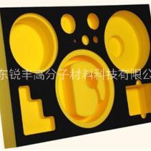 厂家定制eva内衬彩色海绵 防静电垫黑色内衬来样图片