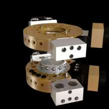 10KG工业机器人工具快换装置盘LH-RTC-0010M(机器人侧)LH-RTC-0010T(工具侧)图片